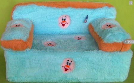 Сделать диван для ребенка своими руками 59