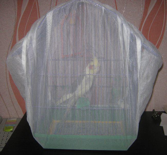 Накидка для клетки попугая 188