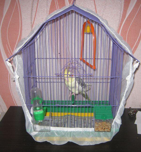 Накидка для клетки попугая 159
