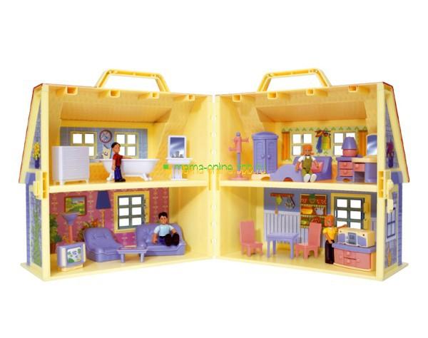 Складные домики для кукол
