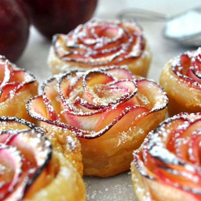 задницы могут розочки из яблока пирог сходит ума