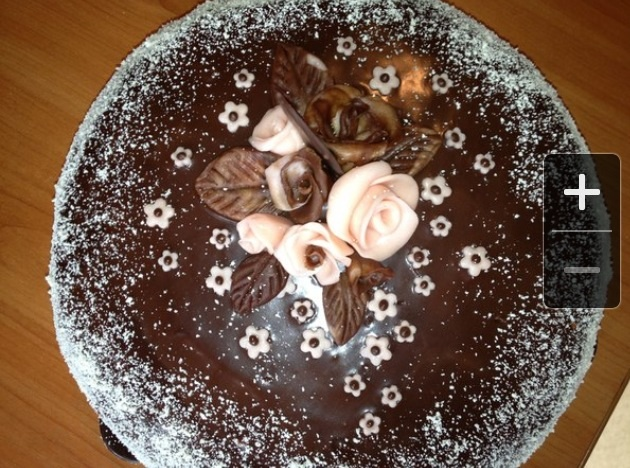 333Ганаш из белого шоколада для покрытия торта фото