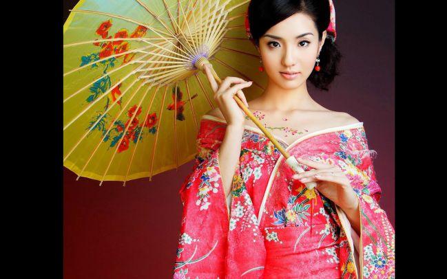 китайская девушки