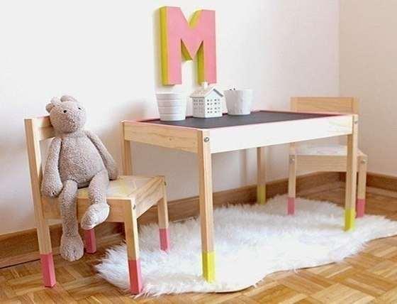 детский стол и стул икеа советчица кидстафф