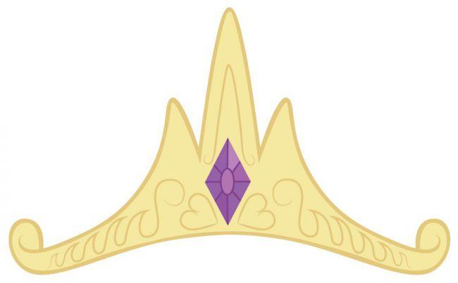 Корона нарисованная селестии