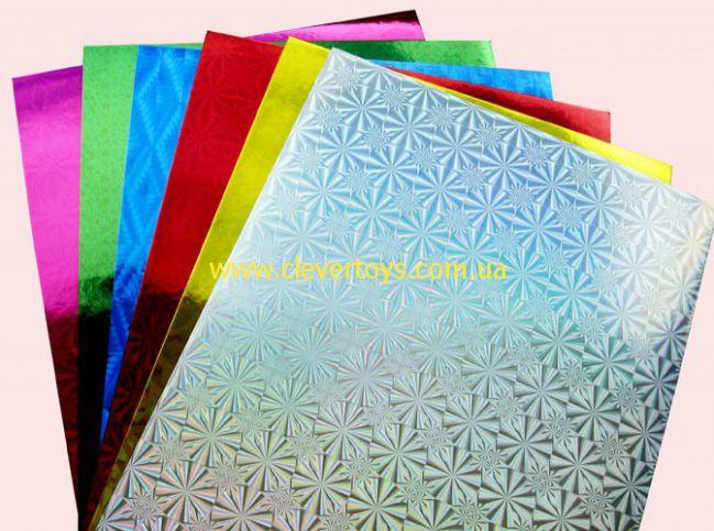 Пленка разноцветная для поделок 68