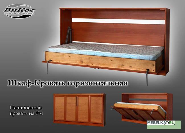 Кровати горизонтальные откидные своими руками