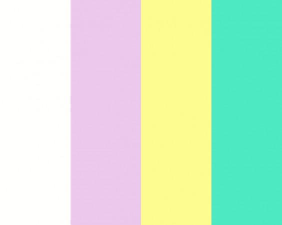 Сочетание белого цвета с другими цветами