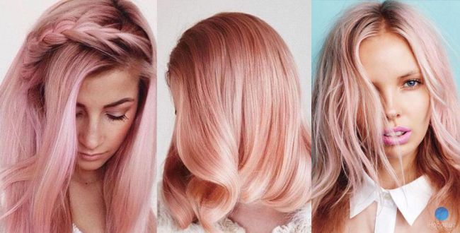 Розовый цвет волос это модно