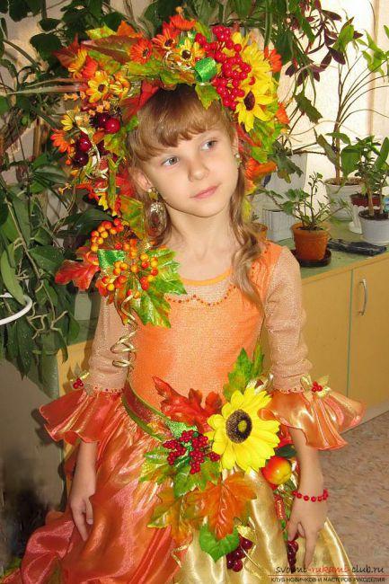 Украшение к костюму осени см. фото - Советчица Кидстафф - photo#18
