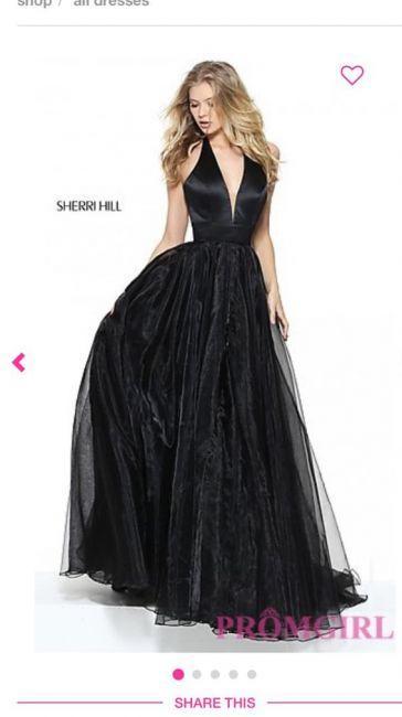 cc91e4d85e0 Вечернее платье чёрный хс - Советчица Кидстафф
