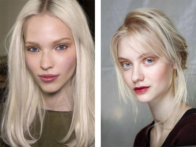 красивый цвет волос фото белый