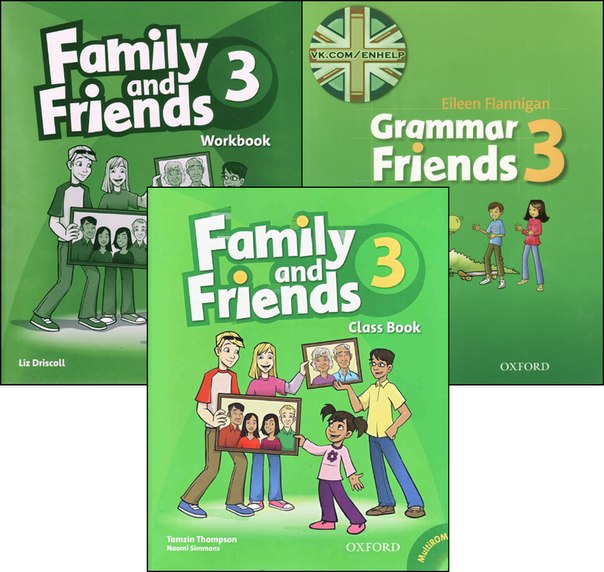 гдз family and friends 3 workbook