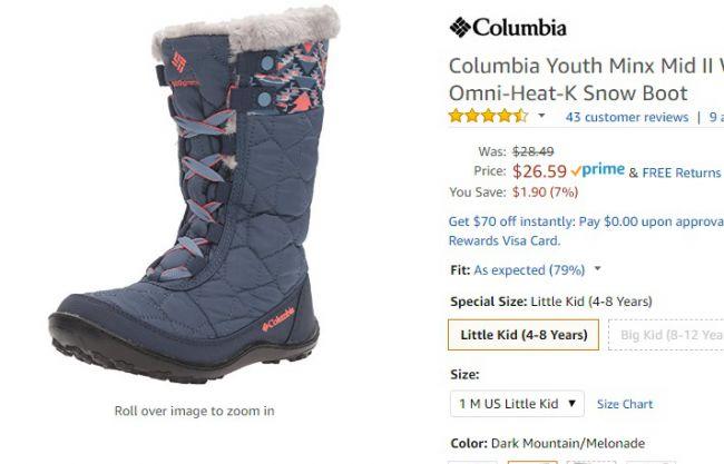 22e791337b11 Зимние сапоги и ботинки Columbia, подборка лучших предложений ...