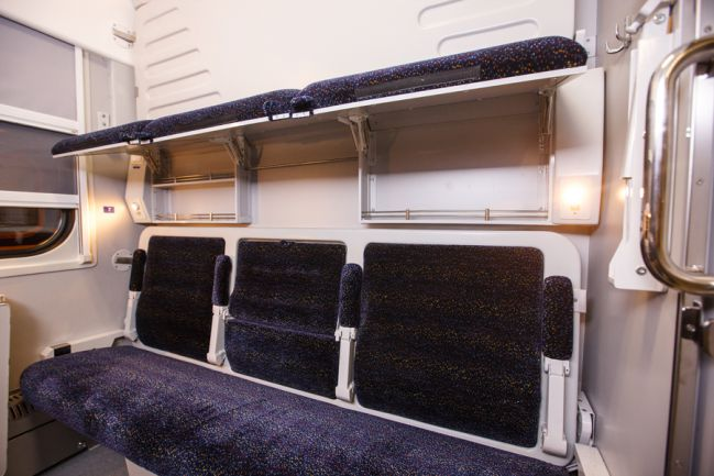 сидячий вагон 3 класса украина