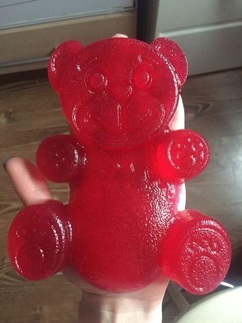 Как сделать с желейным медведь