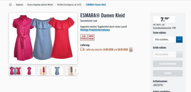 15d5f3bf96a4 Женские платья 7,99, футболки 3,99, балетки кожа 12,99 - Советчица ...