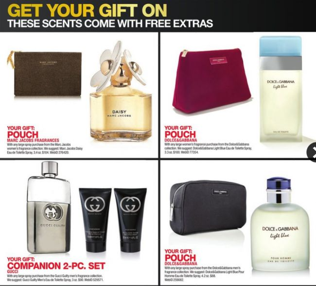 7aaab7edd90 Gucci Guilty 3 oz Men´s Eau de Toilette Spray + Free Companion 2-pc Set   90.00. Dolce   Gabbana 4.2 oz Light Blue Pour Homme Eau de Toilette Spray  + Free ...