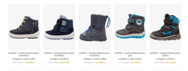 online retailer e5907 aa413 Superfit от 9 евро! Заландо Германия доп-15% на ...